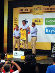 Podium du Tour de France 2015 à Praloup