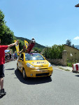 Passage du Tour de France 2015 à Le Fugeret